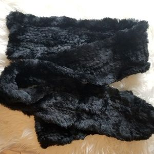 The Limited Scarf 100% Rabbit Fur Extremely Soft
